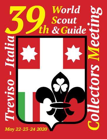 Logo - 39th World Scout & Guide Collectors Meeting 2020, Treviso (I)